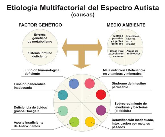Espectro Autista y Etiología